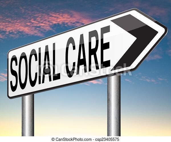 social care - csp23405575