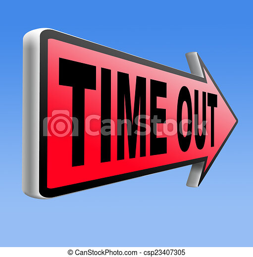 time out - csp23407305