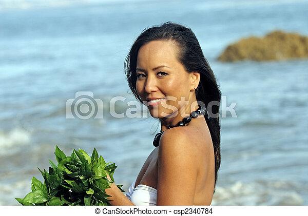 Polynesian Dancer - csp2340784