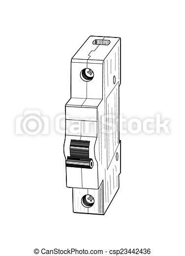 Circuit breaker  - csp23442436