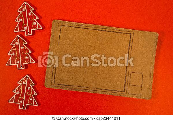 Christmas decoration with pricetag