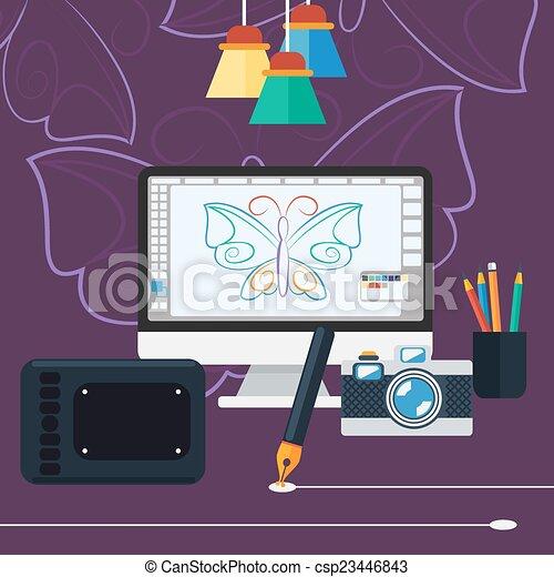 Eps vector de arquitectura programa dise o computadora for Programas de arquitectura y diseno