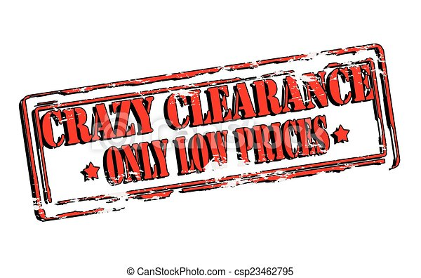 Crazy clearance - csp23462795