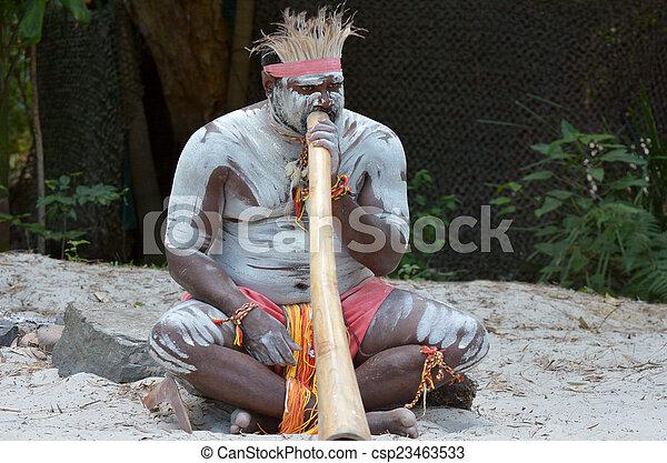 Aboriginal culture show in Queensland Australia