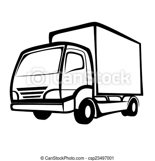 Delivery truck - csp23497001