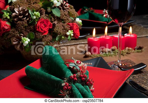 Christmas table 6