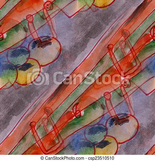 clipart de art gris cr ation contemporain avant garde fond orange csp23510510. Black Bedroom Furniture Sets. Home Design Ideas