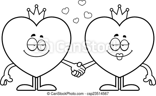 King And Queen Cartoon Drawing Cartoon King And Queen of