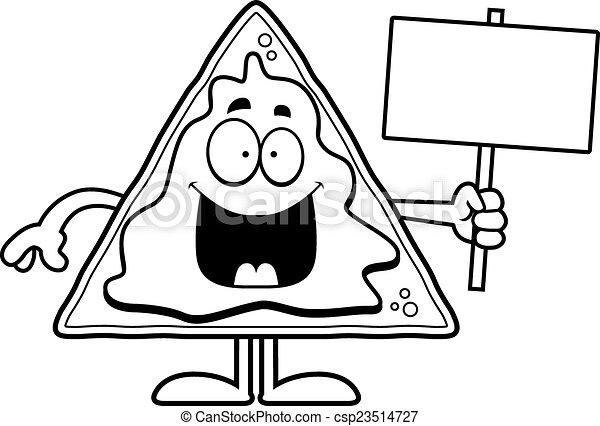 Cartoon Nachos Clipart Cartoon Nachos Sign
