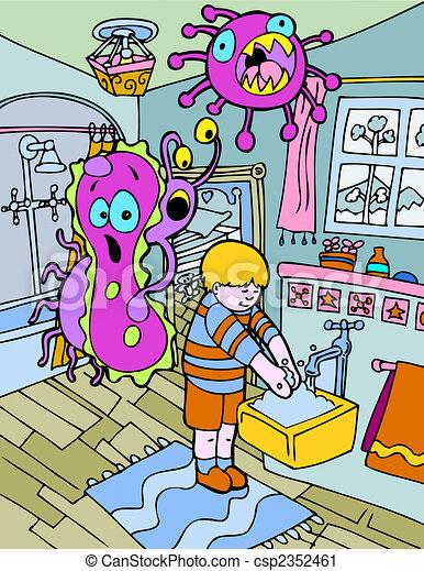 hand washing - csp2352461