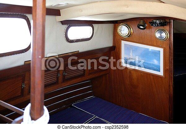 photo int rieur vue bois voilier image images photo libre de droits photos sous. Black Bedroom Furniture Sets. Home Design Ideas