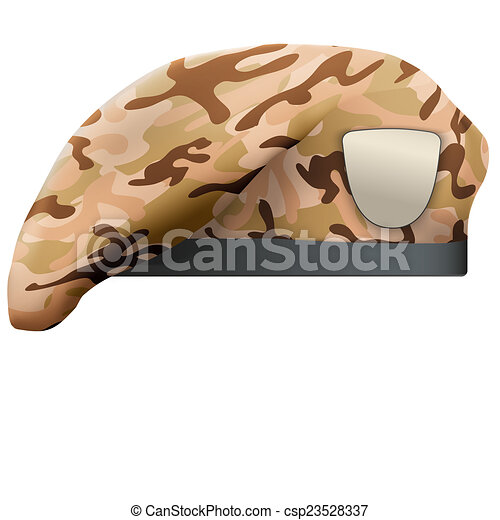 Drawings of Military Camo Beret Special Forces - Military ...