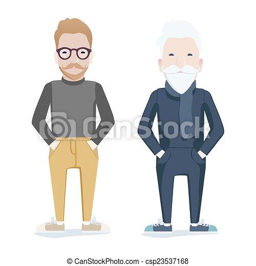 viejo vs joven largo
