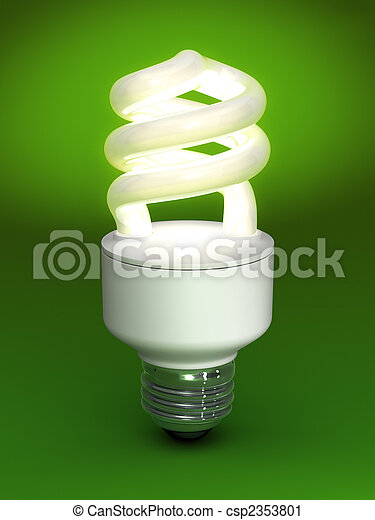Compact Fluorescent Bulb - csp2353801