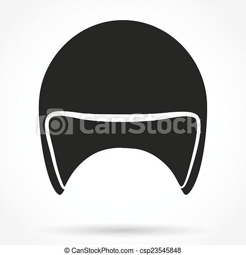 Vecteur eps de silhouette moto classique symbole - Dessin casque moto ...