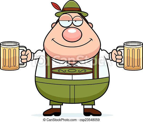 clipart vektor von bier  lederhose  karikatur  mann a beer can clip art border beer can clip art copyright free