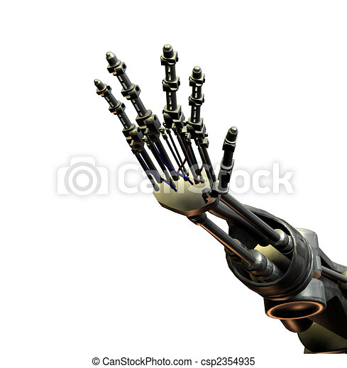 Robot Hand - csp2354935
