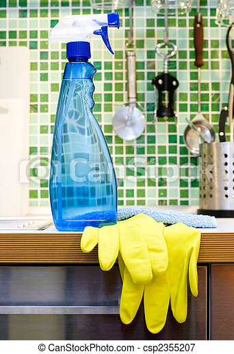 Kitchen cleaning - csp2355207