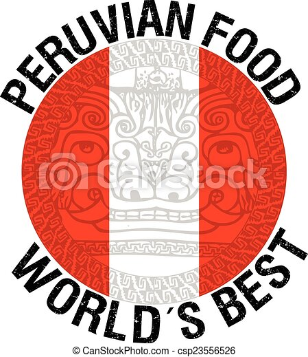 Vector illustration of peruvian food illustration for Art of peruvian cuisine