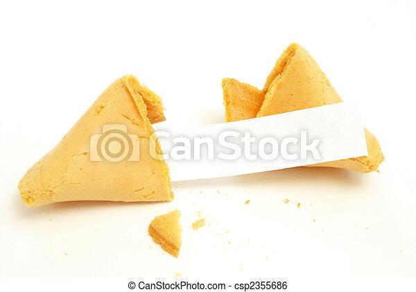 Fortune Cookie - csp2355686