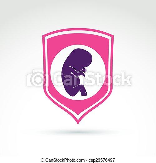 Eps vector van zwangerschap abortus idee sparen for Zuinig leven en sparen