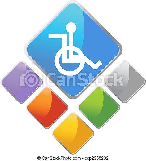 Handicap Diamond - csp2358202