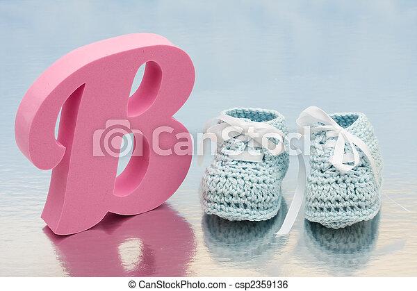 Baby Booties - csp2359136