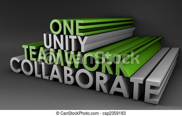 Teamwork Unity - csp2359183