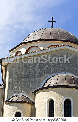 Orthodox church in Greece - csp2359298