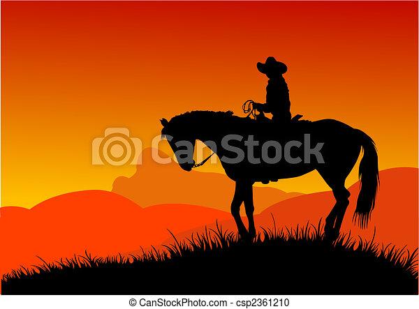 Cowboy - csp2361210