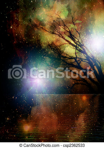 Spiritual Place - csp2362533