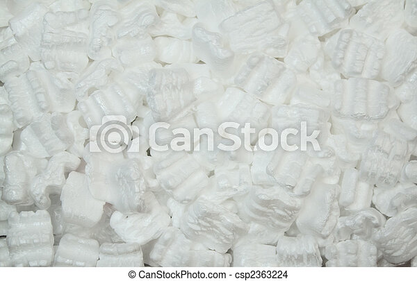 Packing Styrofoam - csp2363224