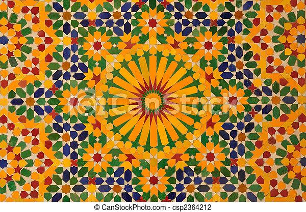 photo de d coration maroc casablanca oriental mosa que. Black Bedroom Furniture Sets. Home Design Ideas