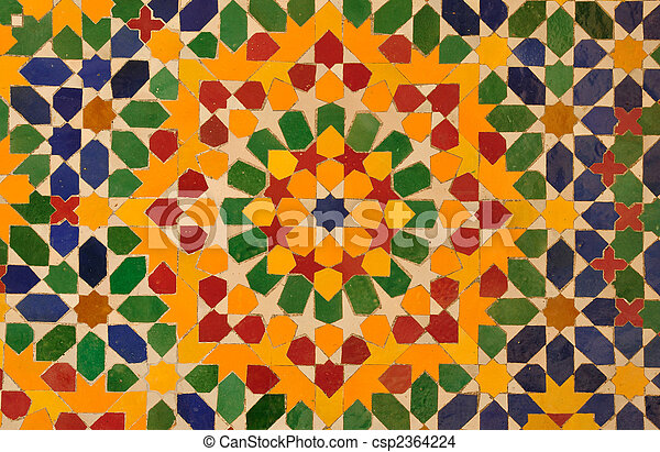 Stock foto von orientalische mosaik dekoration in - Dekoration mosaik ...