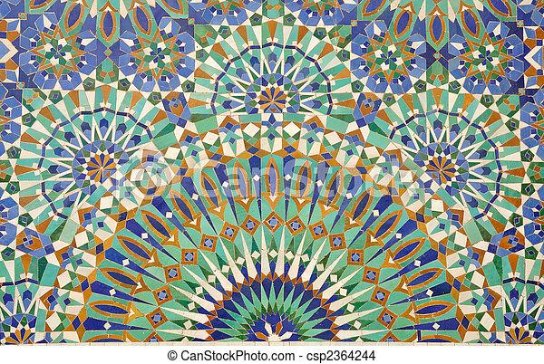 Stock foto von dekoration marokko casablanca - Dekoration mosaik ...