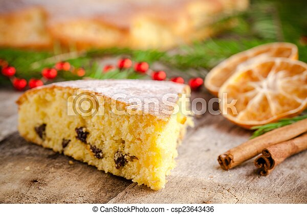 Cinnamon And Biscuit Cake Christmas