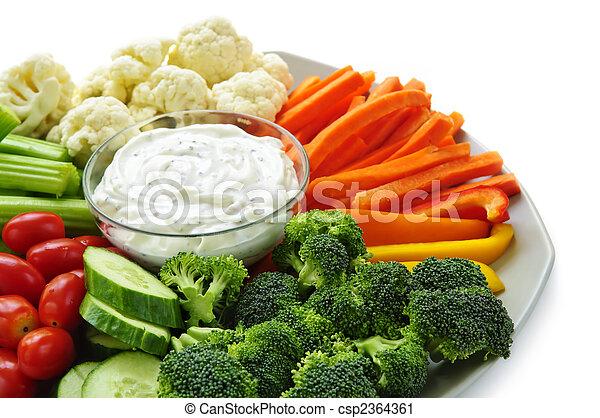grönsaken,  dip - csp2364361