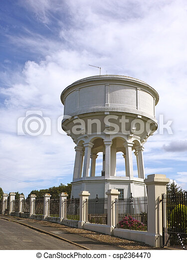 converted water tower - csp2364470