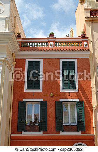 Facade of residential house - csp2365892