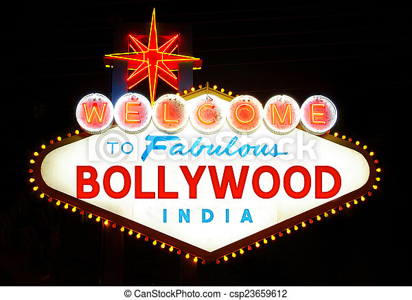 Welcome to Bollywood  - csp23659612