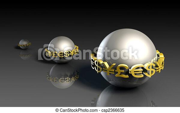 Growing Wealth - csp2366635