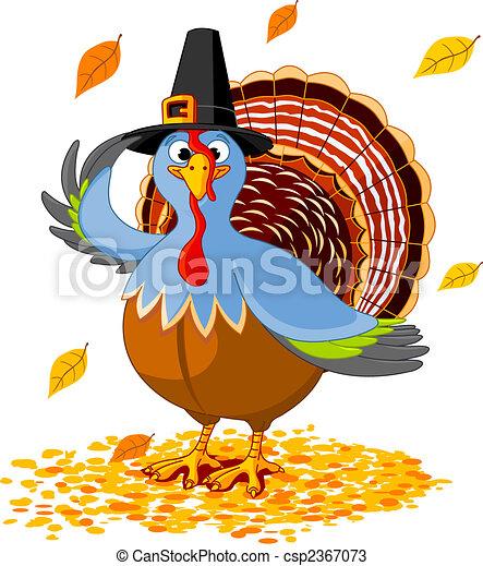 Thanksgiving Turkey - csp2367073