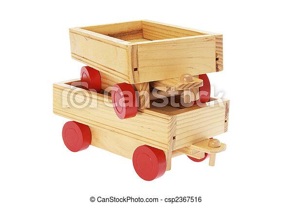 Stock de imagenes de de madera juguete carritos pila for Carritos de cocina de madera