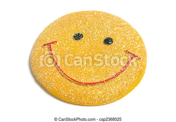 Smiley Fridge Magnet - csp2368025