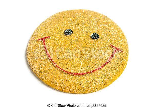 Smiley Fridge Magnet - csp2368025