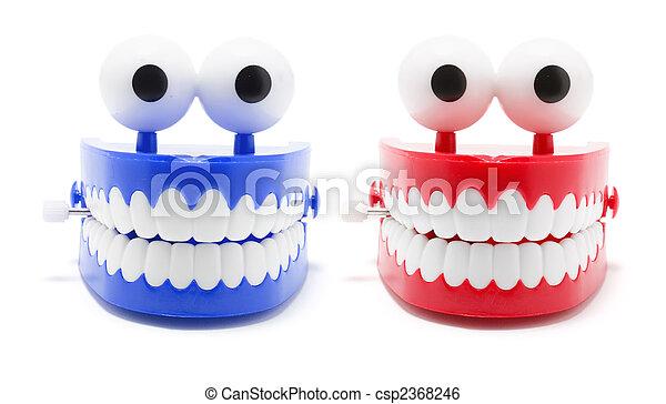 Chattering Teeth - csp2368246