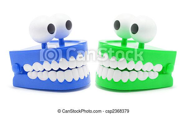 Chattering Teeth - csp2368379