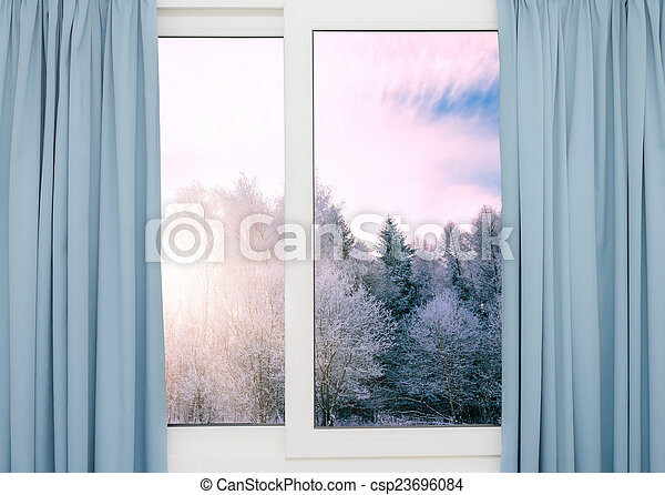 view from the window on the