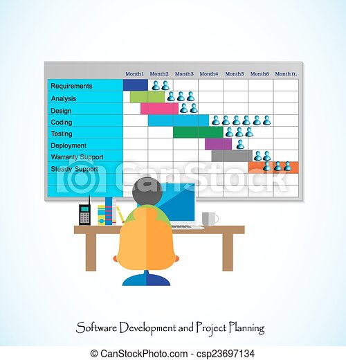 Vectors Of Software Project Planning Software