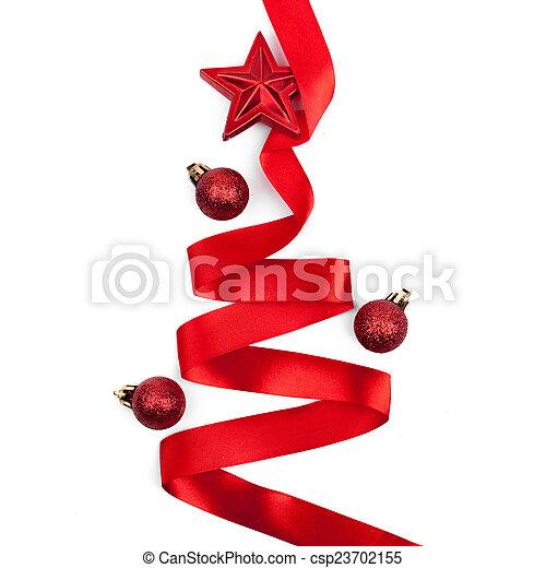Stock im genes de plano de fondo rbol navidad cinta - Cinta arbol navidad ...
